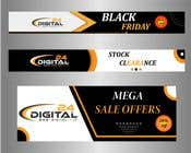 Logo Design Contest Entry #12 for Create 3 banner for: black friday, Stock and offers