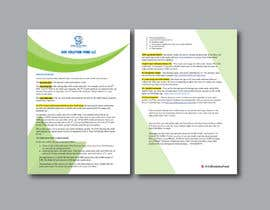 #80 for Create a pdf flyer by designconcept86