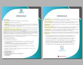 #77 for Create a pdf flyer by forhad150