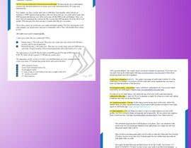 #90 for Create a pdf flyer by ArtistRiaaz