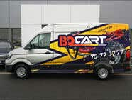 Graphic Design Contest Entry #142 for Design a RACING STYLE wrap for our new VW Crafter van