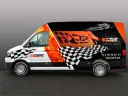 Graphic Design Contest Entry #285 for Design a RACING STYLE wrap for our new VW Crafter van