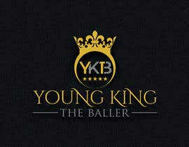 "#218 untuk Logo for ""Young King the Baller"" oleh mehboob862226"
