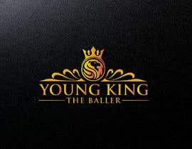 "#203 untuk Logo for ""Young King the Baller"" oleh sumon44230"