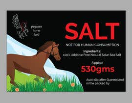 nº 43 pour Design a label for horse salt par ssandaruwan84