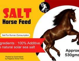 nº 48 pour Design a label for horse salt par zildavarida