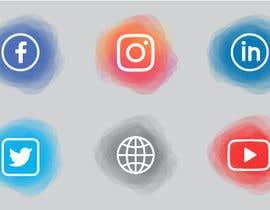 Nro 85 kilpailuun Social Media Icon Set käyttäjältä ranaaqeel03127