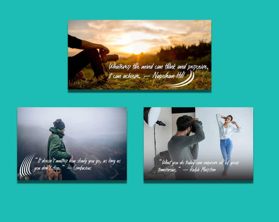 Contest Entry #                                        24                                      for                                         need to create quote graphics images for social media