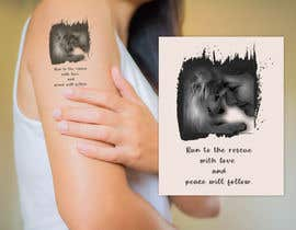 #19 for Tattoo Design from picture + text by abdelali2013