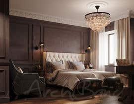 #123 for Hotel Room 3D Rendering by Archiband