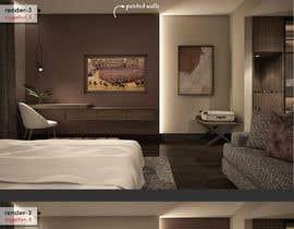 #96 for Hotel Room 3D Rendering by sercevik