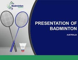 #40 for Badminton Pathway Infographic (3 pages) af smohammedfaisal