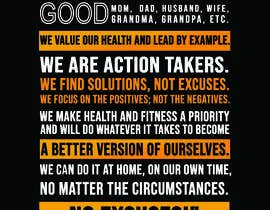 #32 cho I would like a designed graphic of my manifesto quote bởi freelancerfoysa1