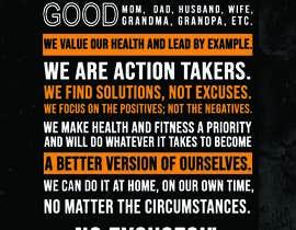 #33 cho I would like a designed graphic of my manifesto quote bởi freelancerfoysa1