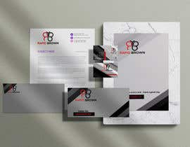 #141 para Require a Business card ,  letter head and envelope  for my company named Rapid brown, por Raniislam0130