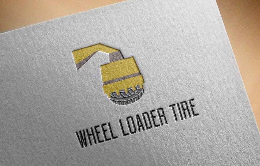 Entri Kontes #                                        5                                      untuk                                        Design a Logo for Wheel Loader Tire Website/Business
