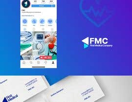#275 para Design a Logo, Business Card, Letterhead and Facebook Cover Photo for distributor company of medical equipment and supplies por AlexMo1