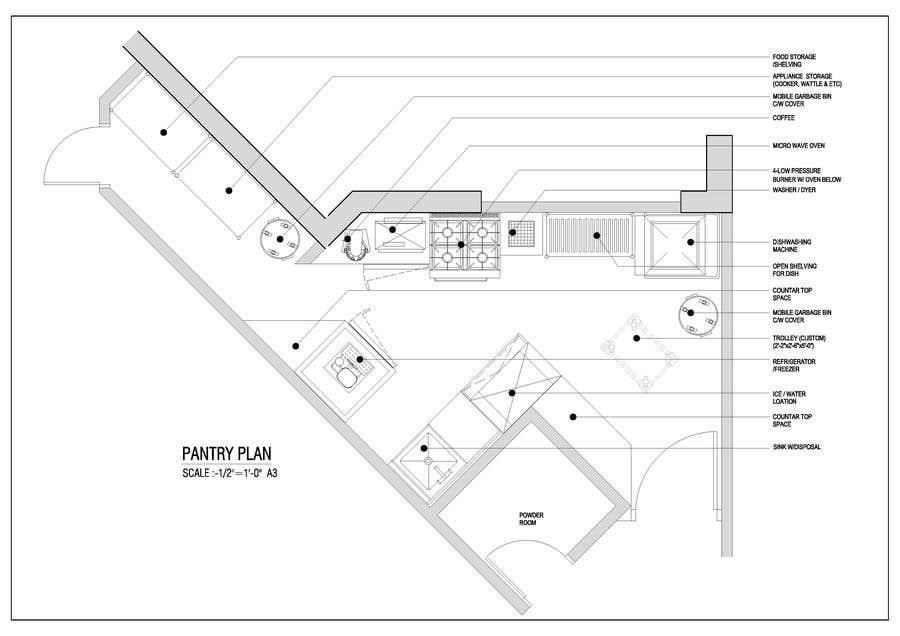 Penyertaan Peraduan #                                        10                                      untuk                                         High End Scullery/Pantry Design