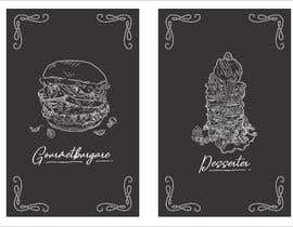 nº 51 pour Design window foil for our restaurant par gakuraa
