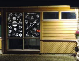 nº 43 pour Design window foil for our restaurant par boskomp