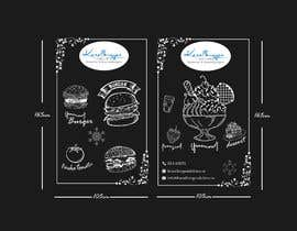 nº 40 pour Design window foil for our restaurant par farhanamisty