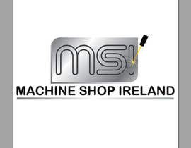 #43 untuk Design a Logo for Machine Shop Ireland. oleh adripoveda