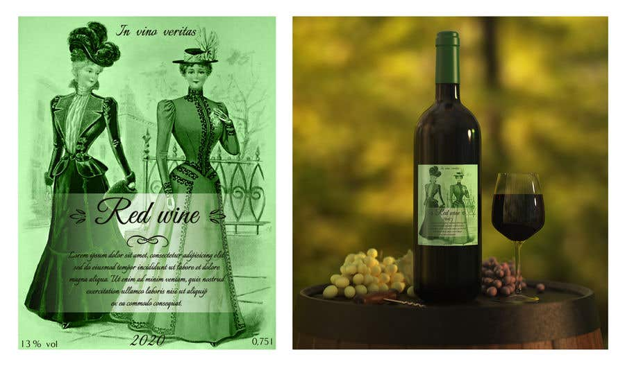 Contest Entry #                                        30                                      for                                         4 wine labels for regional wine in W Romania
