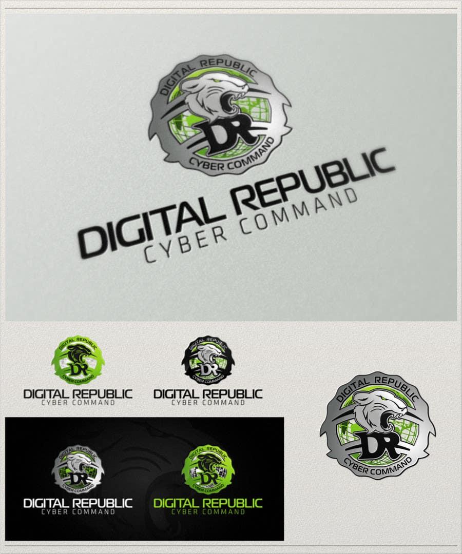 Konkurrenceindlæg #                                        49                                      for                                         Logo Design for Cyber Command Portal