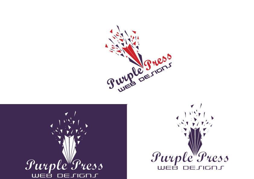 Entri Kontes #44 untukDesign a Logo for Purple Press