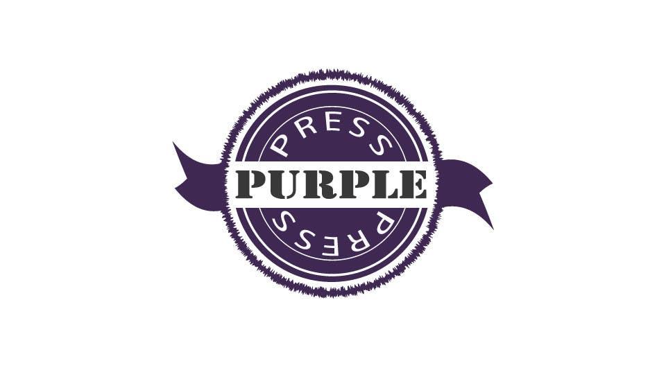 Konkurrenceindlæg #                                        33                                      for                                         Design a Logo for Purple Press