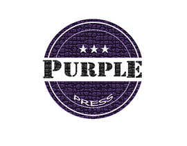 #63 untuk Design a Logo for Purple Press oleh srdas1989