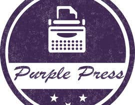 #20 untuk Design a Logo for Purple Press oleh obayomy