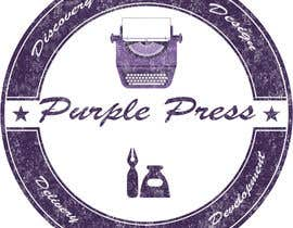 #42 untuk Design a Logo for Purple Press oleh obayomy