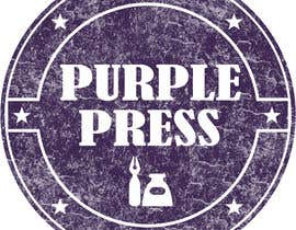 #57 för Design a Logo for Purple Press av obayomy