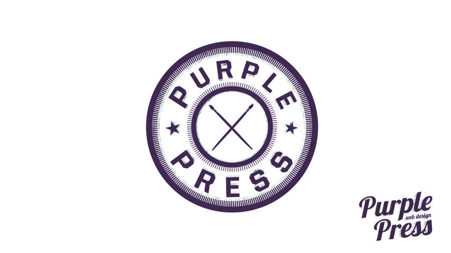 Konkurrenceindlæg #                                        2                                      for                                         Design a Logo for Purple Press