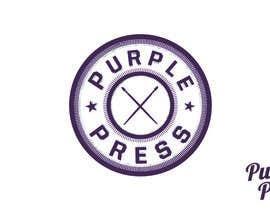 #2 untuk Design a Logo for Purple Press oleh zoranfrljic8