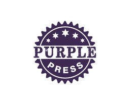 #12 för Design a Logo for Purple Press av rangathusith