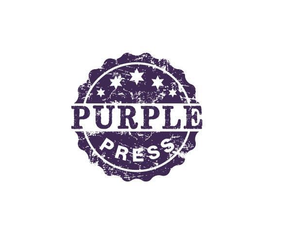 Konkurrenceindlæg #                                        36                                      for                                         Design a Logo for Purple Press