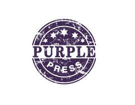 #37 för Design a Logo for Purple Press av rangathusith