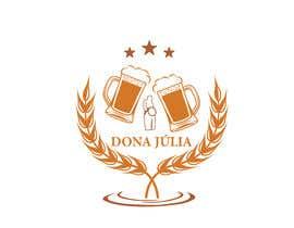 Nro 47 kilpailuun Logotipo for craft beer brand - DONA JÚLIA käyttäjältä khurshida5643