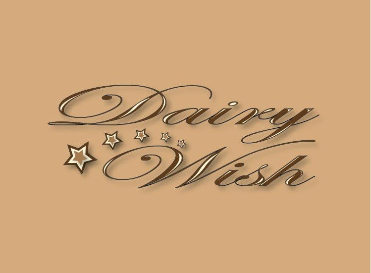 Entri Kontes #                                        279                                      untuk                                        Logo Design for 'Dairy Wish' Chocolate brand