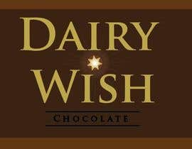 nº 253 pour Logo Design for 'Dairy Wish' Chocolate brand par daviddesignerpro