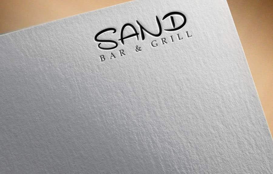 Konkurrenceindlæg #                                        212                                      for                                         Logo for Sand Bar & Grill - Menu Redesign