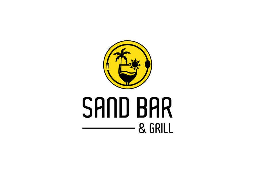 Konkurrenceindlæg #                                        89                                      for                                         Logo for Sand Bar & Grill - Menu Redesign