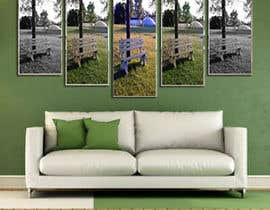 #18 untuk Ad image for social media presenting a canvas in a livingroom oleh mafiaruna6255