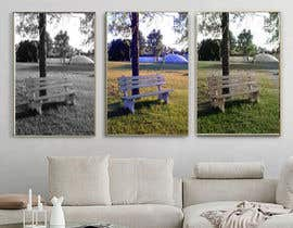 #19 untuk Ad image for social media presenting a canvas in a livingroom oleh mafiaruna6255