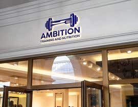 #587 for Ambition Training and Nutrition by Tamannadesign