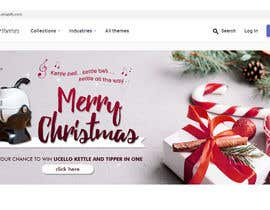 #21 for Graphic Designer + Shopify skills: Design Christmas banners for website (Shopify) Gifts ideas by hwxanxan