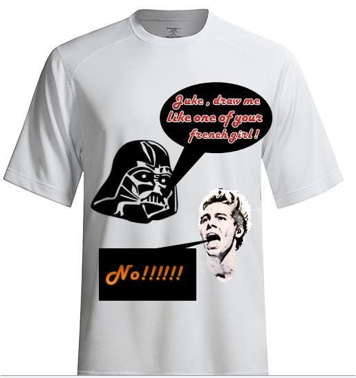 Konkurrenceindlæg #29 for Design a T-Shirt for satire and us