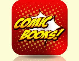 #55 untuk Icon or Button Design for iOS comic book icon oleh Tatan22